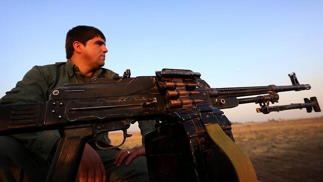Kurdish forces (Photo: AFP)