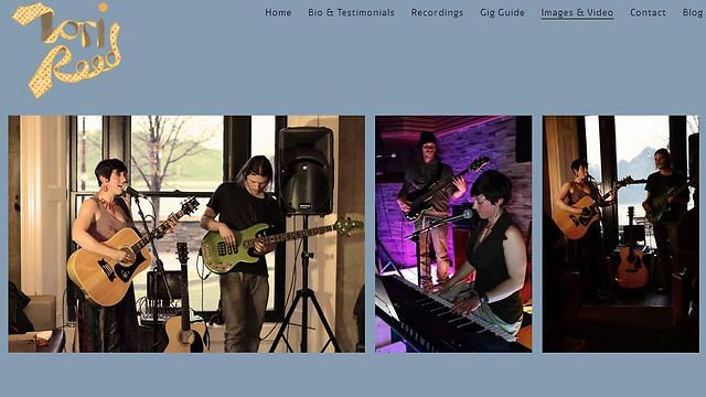 טורי ריד (צילום מסך מתוך אתר האינטרנט של טורי ריד) (צילום מסך מתוך אתר האינטרנט של טורי ריד)