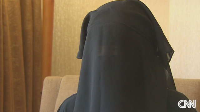 """""""מה עבר לי בראש?"""". חאדיג'ה (צילום: CNN) (צילום: CNN)"""