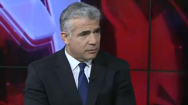 Finance Minister Yair Lapid
