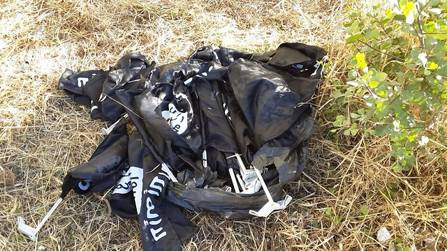 50 flags found (Photo: Police)