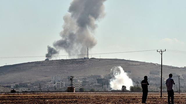 Fight in Kobani (Photo: AFP)