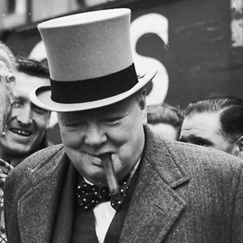 הוביל לניצחון היסטורי במלחמה. וינסטון צ'רצ'יל  (צילום: getty images imagebank) (צילום: getty images imagebank)