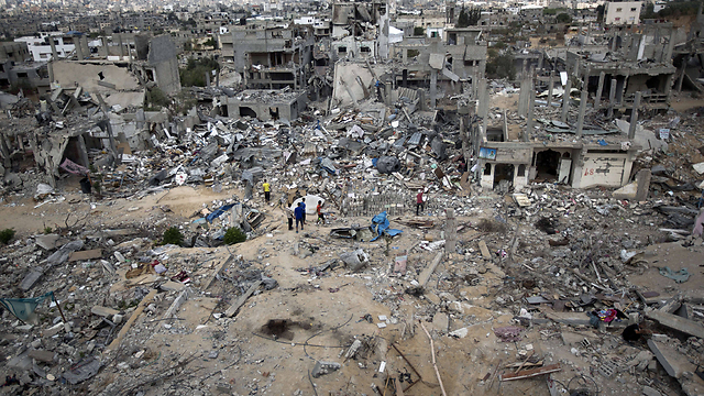 Massive destruction in Gaza (Photo: AFP)