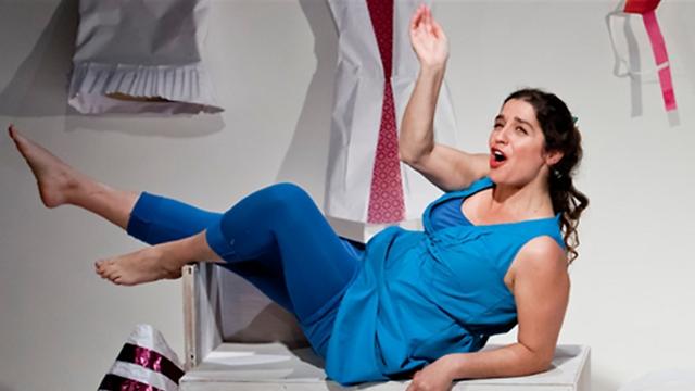 """ההצגה """"אי התאמה"""" בחוג לתיאטרון באוניברסיטת תל אביב (צילום: כפיר בולוטין)"""
