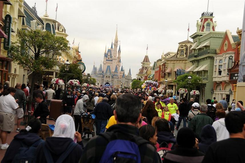 מעל 15 מיליון מבקרים בשנה. ממלכת הקסם (צילום: לירן שטרית)
