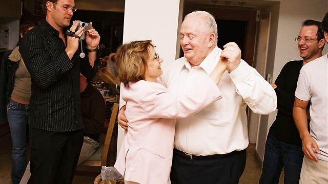 Томи Лапид и его жена Шуламит