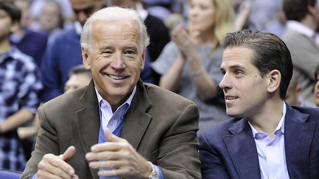 האנטר וג'ו ביידן (צילום: AP) (צילום: AP)