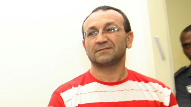החשוד ברצח וואהל קעעיק (צילום: עידו ארז) (צילום: עידו ארז)