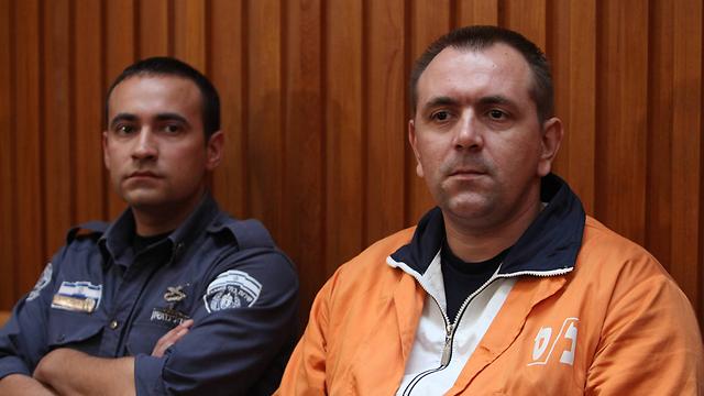 Роман Задоров в зале суда. Фото: Гиль Йоханан