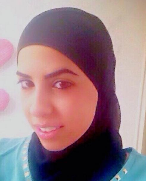 לא קיבלה מלגה למרות מצבה הקשה בבית. לילה אבו עבייד ()