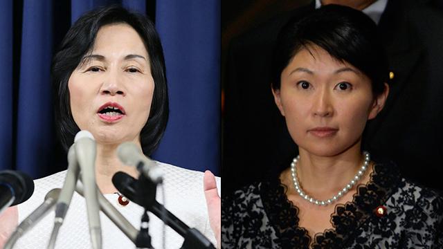 אובוצ'י (מימין) ומאצושימה                       (צילום: EPA, AFP)