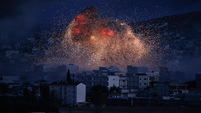 Coalition airstrikes on Islamic State (Photo: AP)