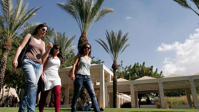 אוניברסיטת בן גוריון. זינוק מרשים (צילום: אליעד לוי)
