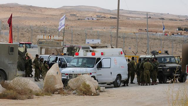 Scene of shooting (Photo: Herzl Yoseph) (Photo: Herzl Yoseph)