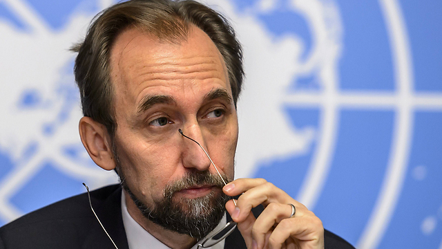 UN High Commissioner for Human Rights Prince Zeid bin Ra'ad Zeid al-Hussein (Photo: AFP) (Photo: AFP)