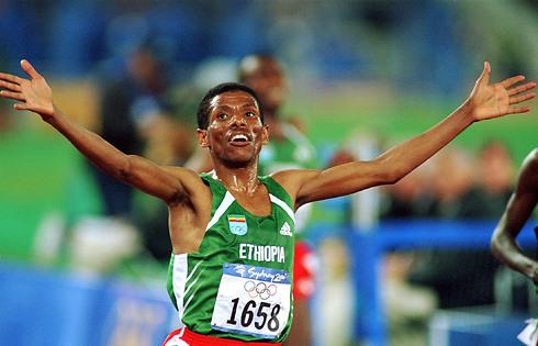 היילה גברסילאסי. גיבור המרתונים של אתיופיה (צילום: gettyimages) (צילום: gettyimages)