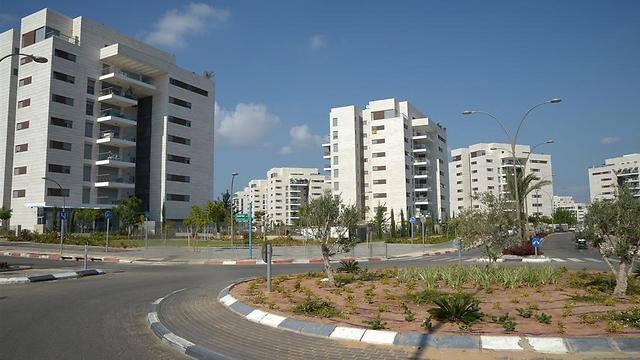 שכונת יבנה הירוקה. 1.26 מיליון שקלים ל-4 חדרים (צילום: אבי רוקח)