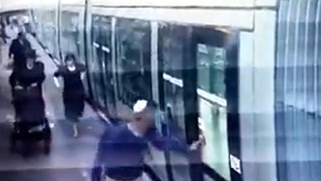 פיגוע הדריסה ברכבת הקלה ב-2014