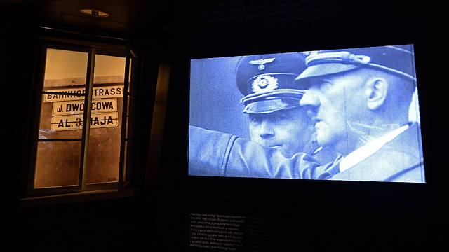 Part of the exhibition at the Core exhibition in the Museum of the History of Polish Jews (Photo: AFP)