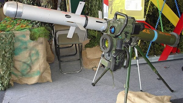 Spike anti- tank missile