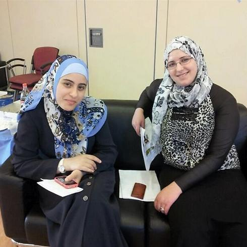 Arabic women students (Photo: Duaa Qadri)