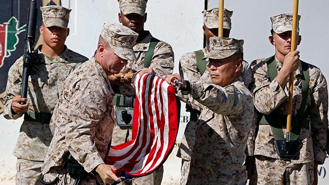 US Marines leaving Afghanistan (Photo: Reuters)