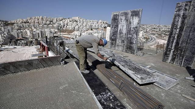 Construction in Har Homa neighborhood in East Jerusalem (Photo: AFP)