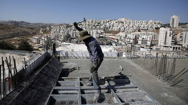 Construction in Har Homa neighborhood in East Jerusalem (Photo: AFP)