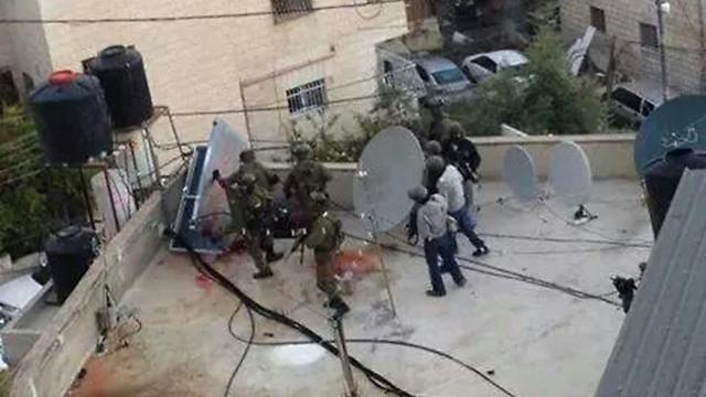 The scene of Hijazi's assassination.