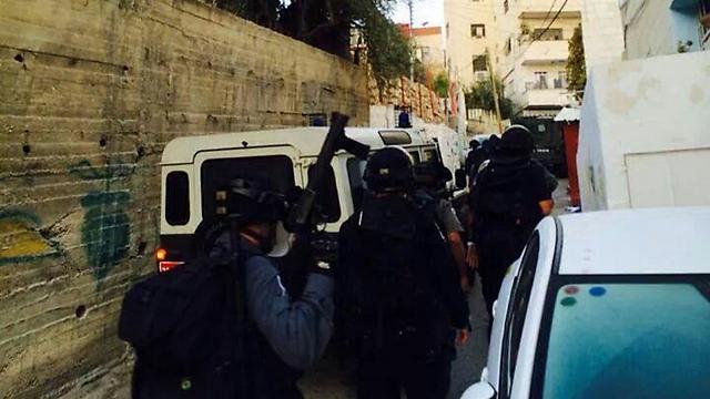 """כוחות ימ""""מ בפעולה במזרח ירושלים ()"""