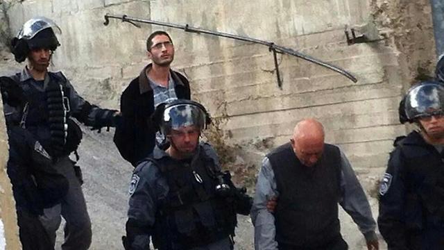 מעצר בני משפחה של חיג'אזי באבו טור ()
