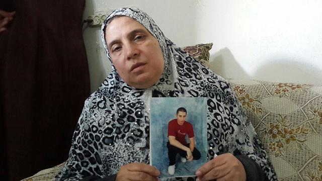 Shadia Hijazi, the terrorist's mother (Photo: Hassan Shaalan)