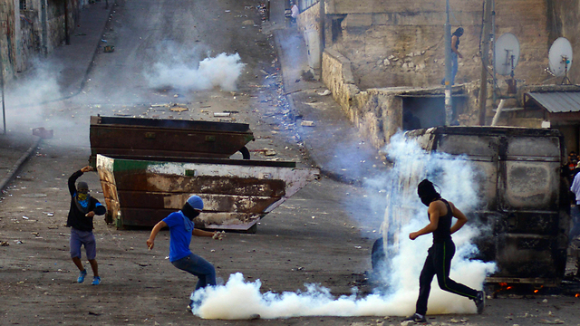 Clashes in East Jerusalem (Photo: AP)