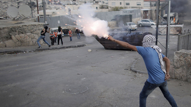 Clashes in East Jerusalem (Photo: AFP)