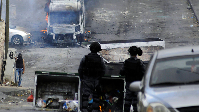 Violence in East Jerusalem (Photo: AP)