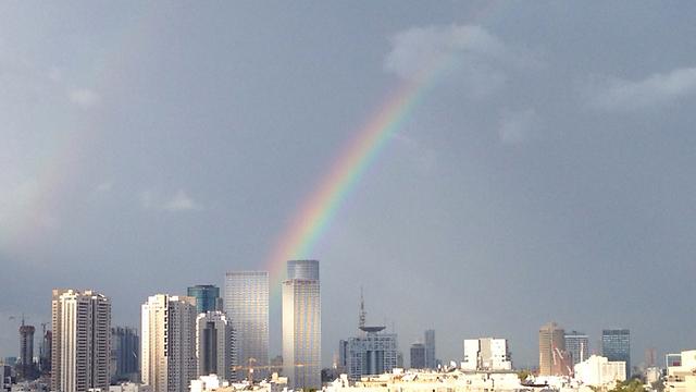 הפוגת גשמים בתל אביב (צילום: Eran Adani)