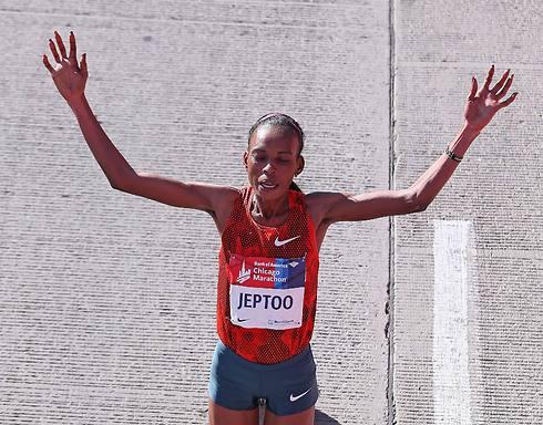 ג'פטו. מרתוניסטית נוספת מקניה שהשתמשה ב-EPO (צילום: AFP)