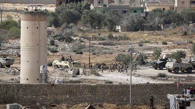 Gaza-Egypt border (Photo: AFP) (Photo: AFP)