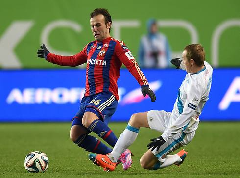 Natkho for CSKA Moscow (Photo: Getty Images)