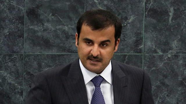 Qatari Emir Tamim bin Hamad Al Thani. A major source of Gaza and Hamas funds (Photo: AP) (Photo: AP)