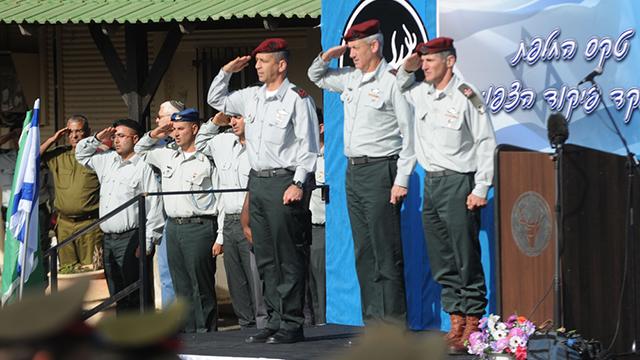 כוכבי מתמנה למפקד פיקוד הצפון (צילום: אביהו שפירא) (צילום: אביהו שפירא)