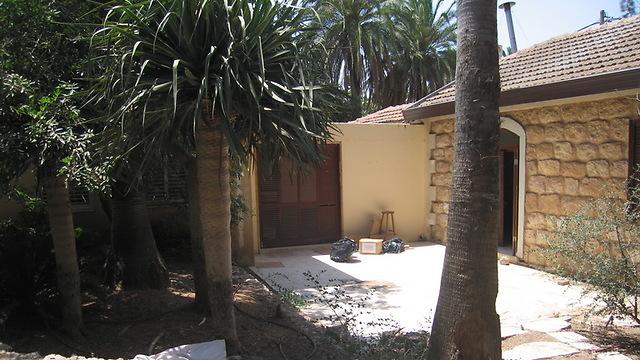 הגינה הקידמית לפני השיפוץ (צילום: רונן קוק) (צילום: רונן קוק)