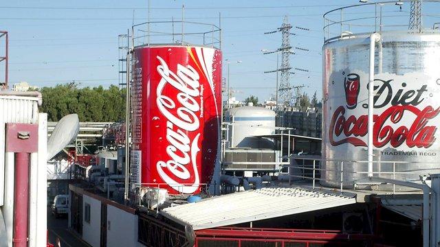 Coca Cola factory in Bnei Brak (Photo: Zvika Tishler)