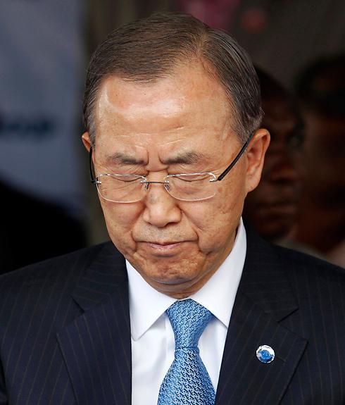 UN Secretary-General Ban Ki-moon. (Photo: Reuters) (Photo: Reuters)