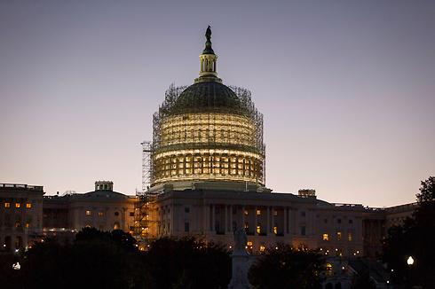 מי יכבוש את הבית? גבעת הקפיטול בשיפוצים (צילום: AP) (צילום: AP)