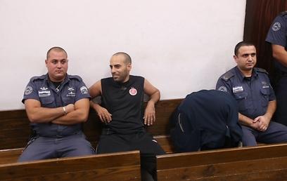 התוקף נשאר במעצר (צילום: מוטי קמחי) (צילום: מוטי קמחי)
