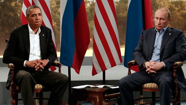 בניגוד לאובמה, הנשיא הרוסי פוטין נראה כמי שהציב מטרות אסטרטגיות ברורות והיה נחוש להשיג אותן ולהגן על בעלי בריתו (צילום: רויטרס)