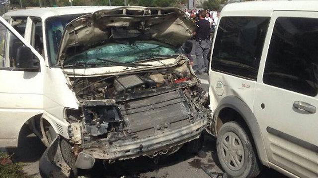 ההתנגשות בין כלי הרכב ()
