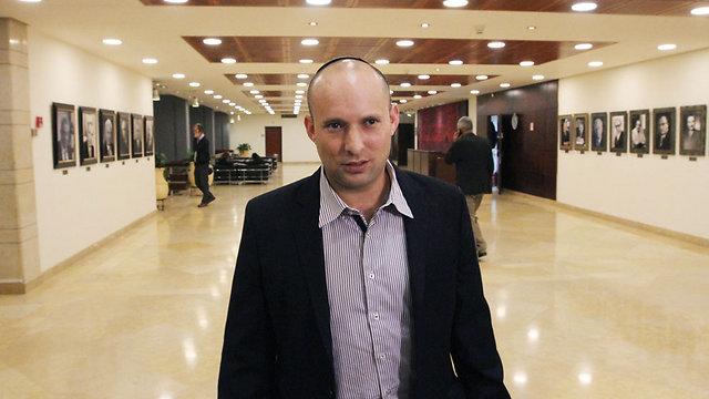 """השר בנט. """"אבו מאזן הוא טרוריסט בחליפה"""" (צילום: עידו ארז) (צילום: עידו ארז)"""
